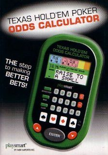 Hand Held Texas Hold Em Poker ODDS Calculator Electronics