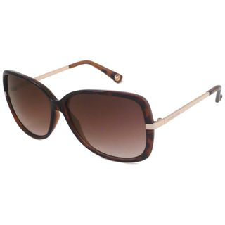 Michael Michael Kors Womens M2467S Camille Rectangular Sunglasses