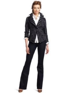 Vivienne Westwood Anglomania Womens Jabot Cross Striped