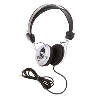 KonoAudio Black Skull Retro Headphones