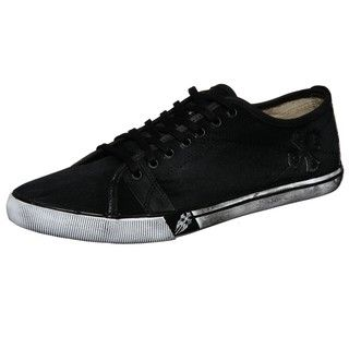 Lounge by Mark Nason Mens Meyers Black Canvas Sneakers