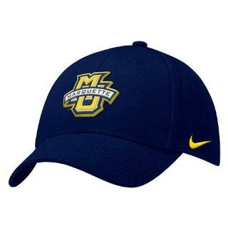 Nike Marquette Golden Eagles Navy Blue Wool Classic Hat