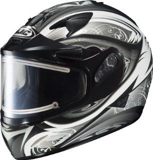 HJC IS 16SN LASH 2013 ELECTRIC SHIELD SNOWMOBILE HELMET WHITE/BLACK
