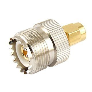 Gino UHF SO 239 SO239 Female to SMA Male Plug Connector