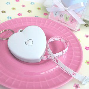 Measure Up Some Love Heart Tape Measure   Baby Shower