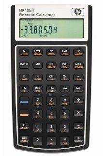 HP 10bII Financial Calculator Electronics