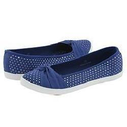 Shellys London Twirl Blue/Silver Dots