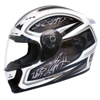 SEVEN ZERO SEVEN Backlash Recoil Full Face Motorcycle Helmet   XS