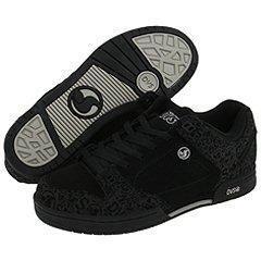 DVS Shoe Company Militia Black Nubuck Prnt