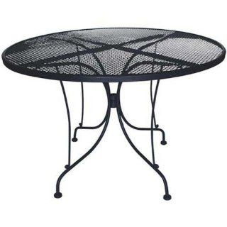 DC America WIT248 Charleston Wrought Iron Table, 48 Inch
