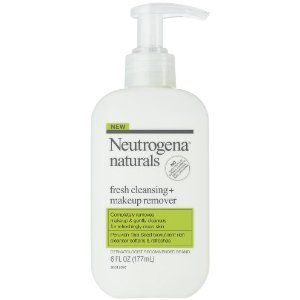 Neutrogena Naturals Fresh Cleansing + Makeup Remover, 6