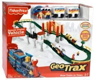 Fisher Price GeoTrax Transportation System Remote Control