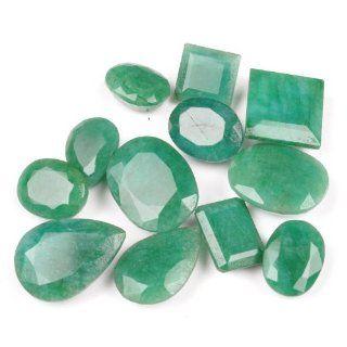 249.00 Ct Natural Wonderful Precious Emerald Mixed Shape