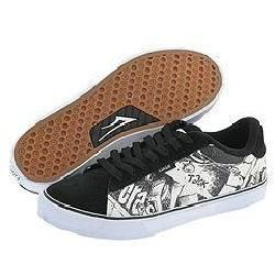 Lakai Howard Select Wrench Pilot Black/White Suede
