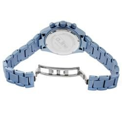 line Womens Amore Light Blue Aluminum Watch