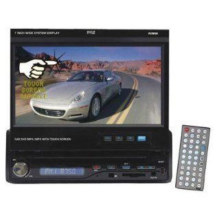 PYLE PLTS72U 7 Inch Single DIN In Dash Motorized Touch