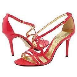 Jessica Bennett Heart Pink Patent Pumps/Heels