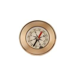 Portable Round Copper Compass Outdoor Navigation Tool