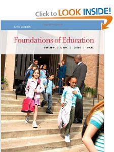 Foundations of Education: Allan C. Ornstein, Daniel U. Levine, Gerry