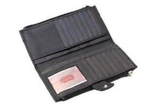 Paul & Taylor Genuine Leather Ladies Checkbook Wallet