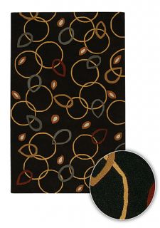 Hand tufted Contemporary Terra Wool Rug (5 x 8)