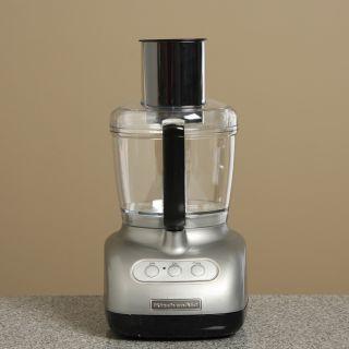 KitchenAid RKFP710CU Contour Silver 7 cup Food Processor (Refurbished