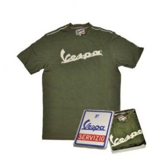 Vespa Herren T Shirt, grün, in Geschenkbox, XL Bekleidung