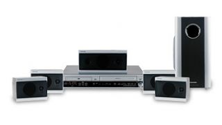 Toshiba SD V55HT 400 watt DVD/VCR Home Theater System (Refurbished