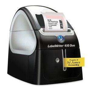 Dymo LabelWriter 450 DUO Label Printer. LABELWRITER 450