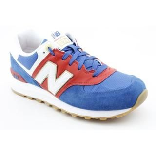 New Balance Boys 574 Olympic Collection Regular Suede Athletic Shoe