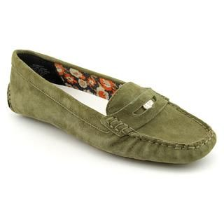 Anne Klein AK Womens Grefty Regular Suede Casual Shoes (Size 6