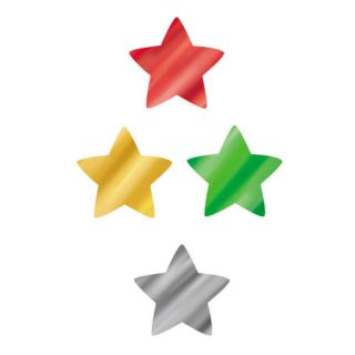 Foil Star Stickers, Gold (Pack of 400)