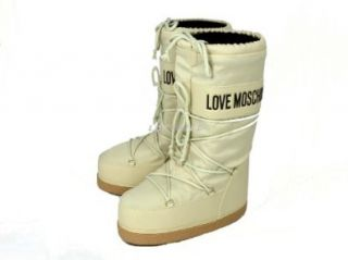 Love Moschino Damenschuhe Stiefel Yeti Schneestiefel Snowboots P100A