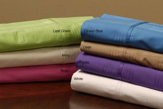 400 Thread Count Dobby Combed Cotton Sheet Set
