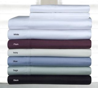 Pima Cotton 400 Thread Count 3 piece Duvet Cover Set
