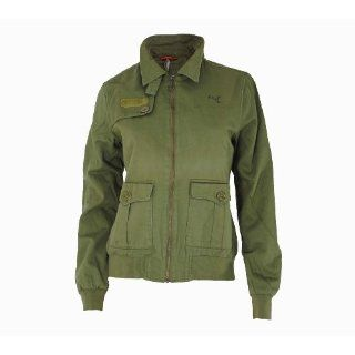 Puma Flight Jacket Damen Lifestyle Jacke   Olivgrün   Gr. M