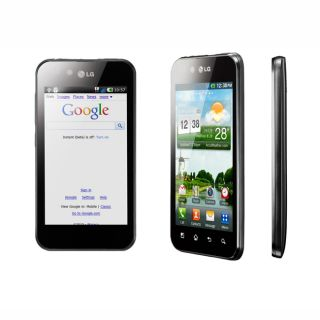 LG Optimus P970 GSM Unlocked Black Cell Phone