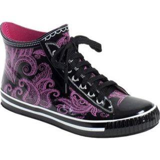 Womens RainBOPS High Top Style Rain Boot Pretty In Pink