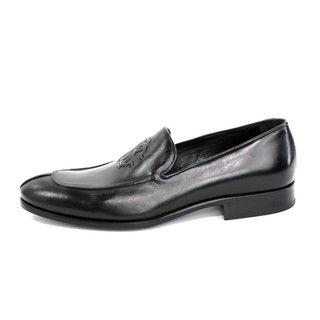 Roberto Cavalli Mens Calf Nero Dress Shoes