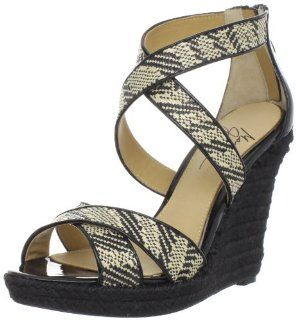 Mark + James Womens Reza II Wedge Shoes