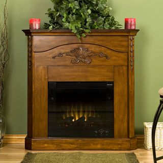 Concord Mahogany Electric Fireplace