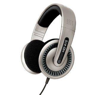 Sennheiser HD 415 Stereo Kopfhörer silber Elektronik