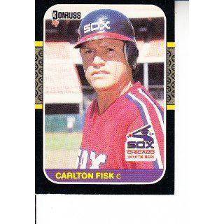 1987 Donruss #247 Carlton Fisk Baseball