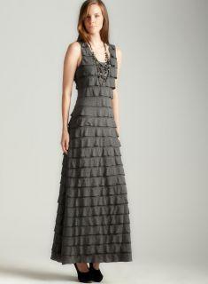Max Studio Tiered Jersey Maxi Dress