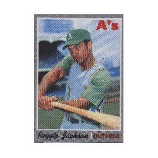 1970 Topps #140 Reggie Jackson   NM: Collectibles