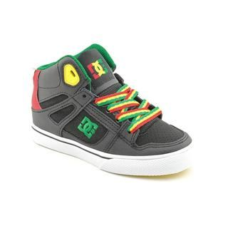 DC Boys Spartan Hi Leather Athletic Shoe