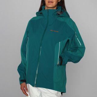 Arcteryx Womens Stingray Peacock Soft Shell Ski Jacket (L