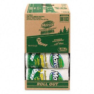 100% Premium Recycled Roll Towels Roll Out Case, 140 Sheets/RL, 11 x 5