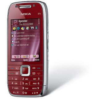 Nokia E75 Ruby Red Unlocked Smartphone
