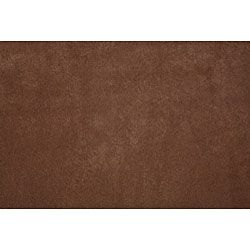 Olga Rolled Arm Dark Brown Microfiber Sofa